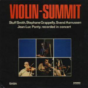 Stuff Smith, Stéphane Grappelli, Svend Asmussen, Jean-Luc Ponty: Violin-Summit - Cover