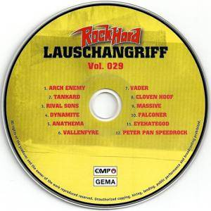 Rock Hard - Lauschangriff Vol. 029 (CD) - Bild 3