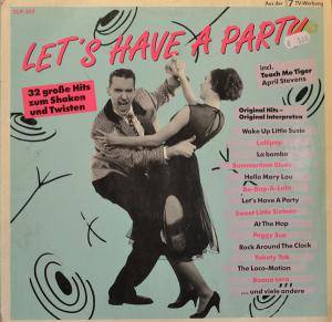 Cover - Royal Showband Waterford: Let's Have A Party - 32 Große Hits Zum Shaken Und Twisten