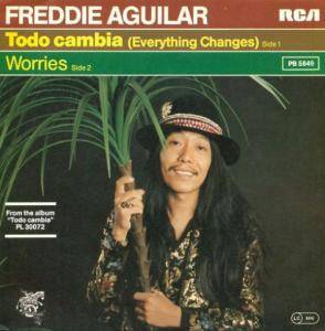 Freddie Aguilar: Todo Cambia (Everything Changes) - Cover