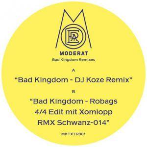 Cover - Moderat: Bad Kingdom