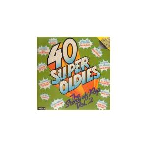 40 Super Oldies - The Story Of Pop Vol. 2 - Cover