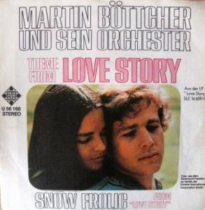 Cover - Martin Böttcher Orchester: Theme From Love Story