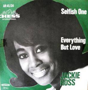 Cover - Jackie Ross: Selfish One
