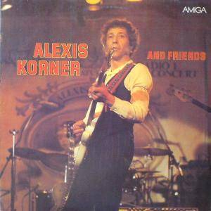 Alexis Korner And Friends: Party Album, The - Cover
