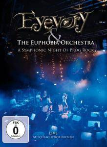 Eyevory: & The Euphobia Orchestra - A Symphonic Night Of Prog Rock - Cover