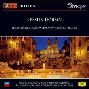 Cover - Amilcare Ponchielli: 400 Jahre Oper - Focus Edition Vol. 1: Nessun Dorma!