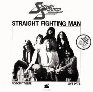 Straight Shooter: Straight Fighting Man - Cover