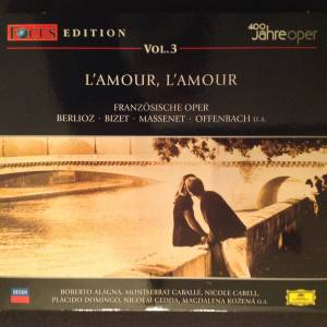 Cover - Gustave Charpentier: 400 Jahre Oper - Focus Edition Vol. 3: L'Amour, L'Amour