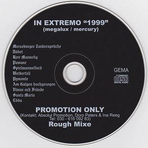 Cover - In Extremo: 1999