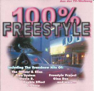 Cover - Freestyle Project: 100% Freestyle Vol 1