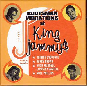 Cover - Johnny Osbourne: Rootsman Vibrations At King Jammys