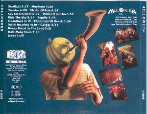 Helloween: Helloween / Walls Of Jericho / Judas (CD) - Bild 2