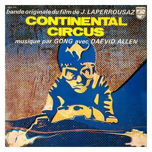 Cover - Gong: Continental Circus