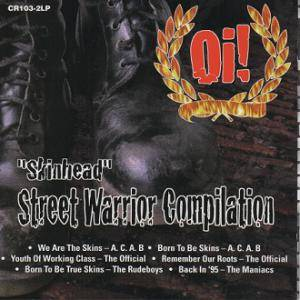 Skinhead Street Warrior Compilation - Cover