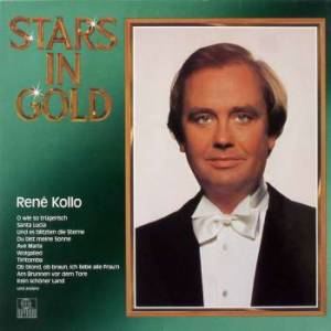Cover - René Kollo: René Kollo, Stars In Gold