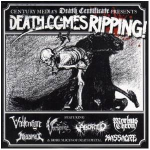 Death Comes Ripping - Cover