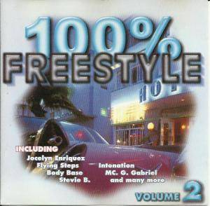 Cover - Freestyle Project: 100% Freestyle Vol 2