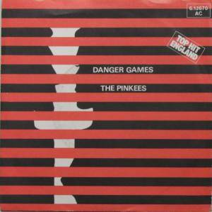 Cover - Pinkees, The: Danger Games