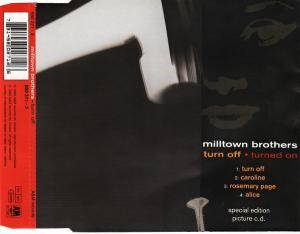 Cover - Milltown Brothers: Turn Off - Turned On