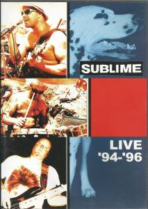 Cover - Sublime: Live '94-'96
