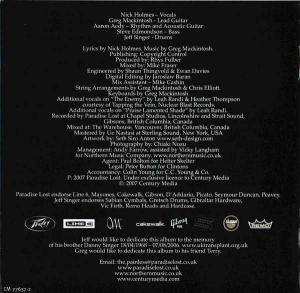 Paradise Lost: In Requiem (CD) - Bild 2