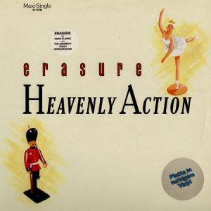 Erasure: Heavenly Action - Cover