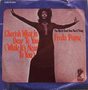 Cover - Freda Payne: Cherish What Is Dear To You (While It's Near To You)