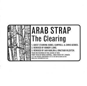 Arab Strap: Clearing, The - Cover