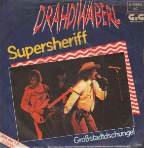 Cover - Drahdiwaberl: Supersheriff