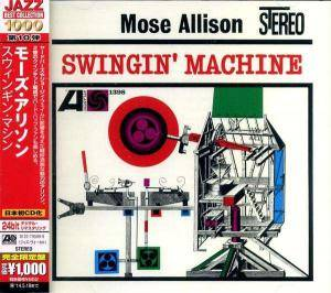 Cover - Mose Allison: Swingin' Machine