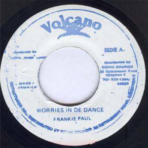 Cover - Frankie Paul: Worries In The Dance