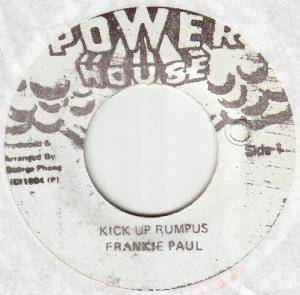 Cover - Frankie Paul: Kick Up Rumpus