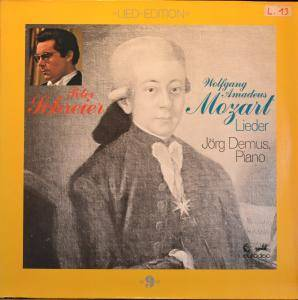 Wolfgang Amadeus Mozart: Lieder - Cover