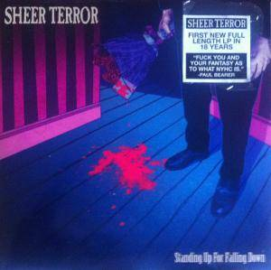 Sheer Terror: Standing Up For Falling Down - Cover