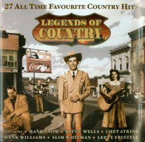Cover - Spade Cooley & His Orchestra: Legends Of Country - 27 All Time Favourite Country Hits