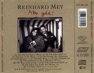 Reinhard Mey: Alles Geht! (CD) - Bild 2