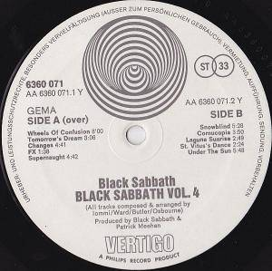 Black Sabbath: Vol 4 (LP) - Bild 10