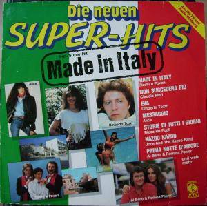 Cover - Joce And The Kazoo Band: Neuen Super-Hits - Made In Italy, Die