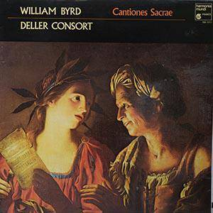 Cover - William Byrd: Cantiones Sacrae