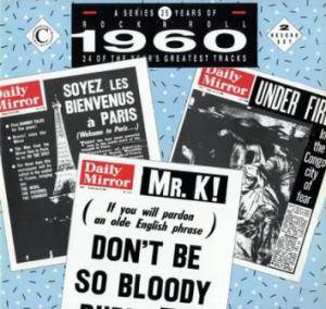 Cover - Johnny Kidd: Series 25 Years Of Rock'n'Roll 1960, A