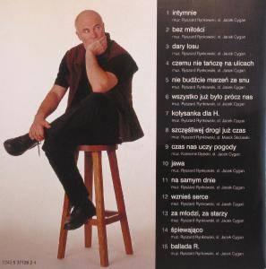 Ryszard Rynkowski: Intymnie - CD (2001, Live)