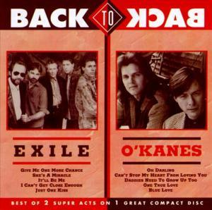 Exile, O'Kanes, The: Back To Back - Cover