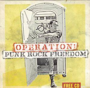 Cover - Break The Silence: Operation: Punk Rock Freedom