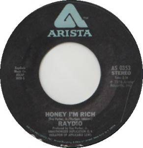 Cover - Raydio: Honey, I'm Rich