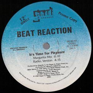 "Beat Reaction: It's Time For Pleasure (Promo-12"") - Bild 1"