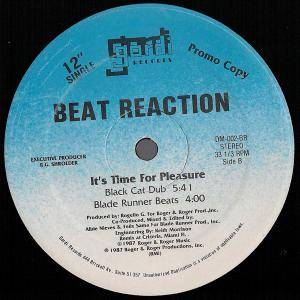 "Beat Reaction: It's Time For Pleasure (Promo-12"") - Bild 2"