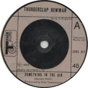 Cover - Thunderclap Newman: Something In The Air / Fire