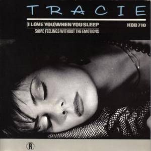 Cover - Tracie: I Love You When You Sleep