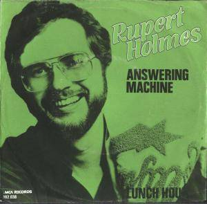 Cover - Rupert Holmes: Answering Machine